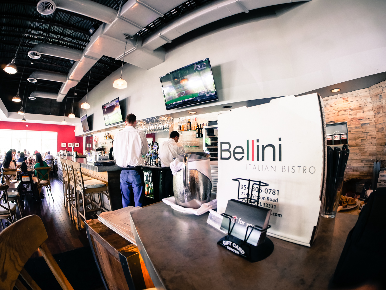 Bellini Italian Bistro Weston Restaurant